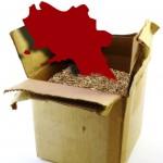 Napoli, cartone riciclabile