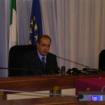 Giuseppe Pisanu dopo l'elezione