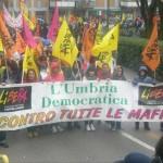 Libera Umbria a Potenza (Foto a cura del presidio di Libera Marsciano)