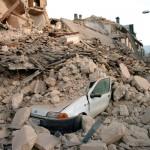 Immagini del terremoto