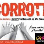La campagna di Libera contro la corruzione