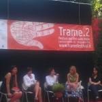 """Festival """"Trame"""" - Un momento del dibattito """"Il coraggio delle donne"""""""