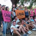 I volontari di Libera a Castelvetrano