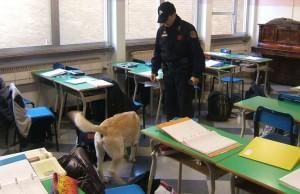 cane-antidroga-aula-scuola-controlli-latina-24ore