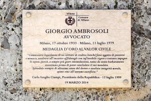 212 - Via Morozzo della Rocca 1, Giorgio ambrosoli