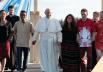 papa francesco e i giovani