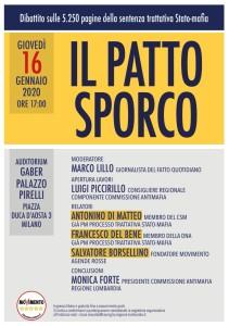 Il patto sporco 16_01_2020 Palazzo Pirelli