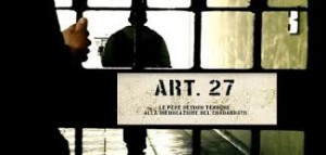 carcere art 27